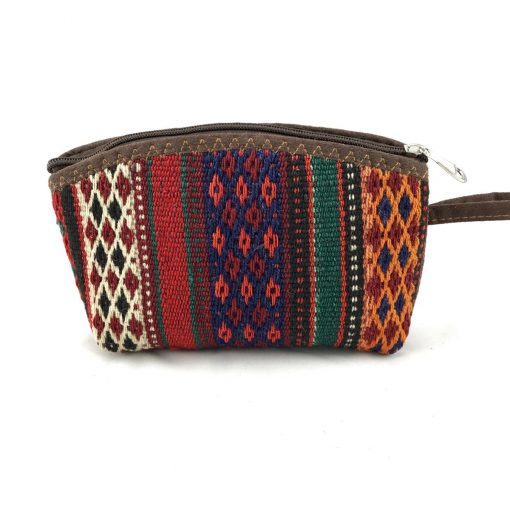 Erica Cosmetics Pouch Handmade with Handwoven Persian Kilim TruFlair