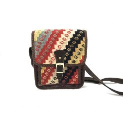 Begonia Crossbody Handmade with Handwoven Persian Kilim TruFlair