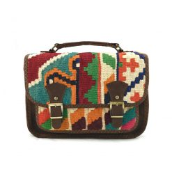 Gerbera Messenger Handmade with Handwoven Persian Kilim TruFlair
