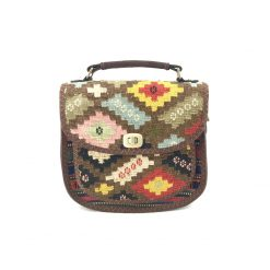Bouvardia Crossbody Handmade with Handwoven Persian Kilim TruFlair