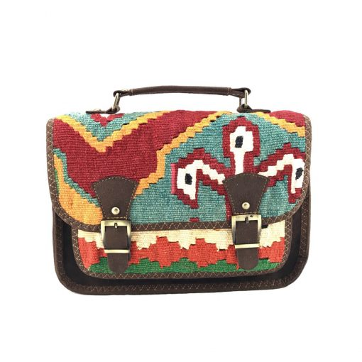 Flamingo Messenger Handmade with Handwoven Persian Kilim TruFlair