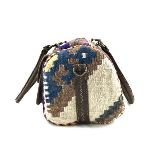 Bumblebee Satchel Handmade with Handwoven Persian Kilim TruFlair