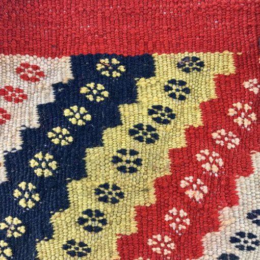 Pomegranate Tote Handmade with Handwoven Persian Kilim TruFlair