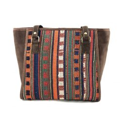 Marmalade Tote Handmade with Handwoven Persian Kilim TruFlair