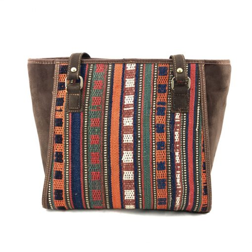 Marmalade Tote Handmade with Handwoven Persian Kilim TruFlair