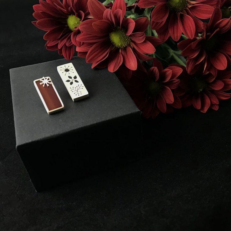 Autumn Vibes Sterling Silver Opal Earrings Handmade Jewellery TruFlair