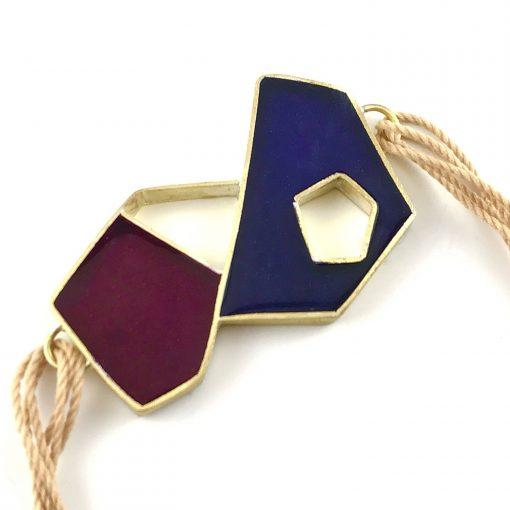Meteorite Bracelet Handmade Jewellery TruFlair