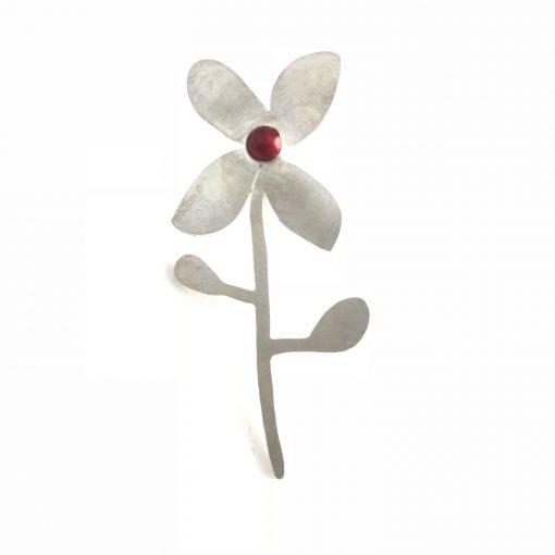 Perpetual Flowers Sterling Silver Earrings Handmade Jewellery TruFlair