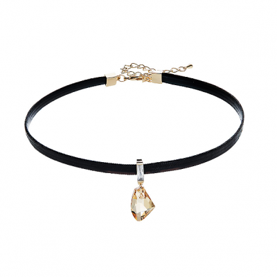 Swarovski Crystal Space Rock Choker TruFlair Online Boutique
