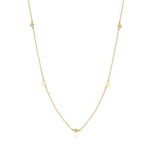 Star Confetti Choker 18k Gold Plated Sterling Silver TruFlair Online Boutique