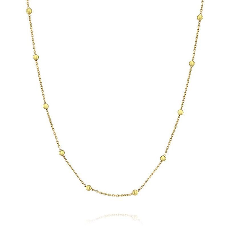 Ball Choker 18k Gold Plated Sterling Silver TruFlair Online Boutique